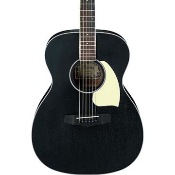 Ibanez PC14WK Mahogany Grand Concert Acoustic Guitar Weathered Black