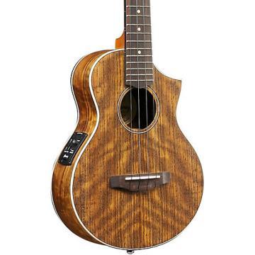 Ibanez UEWT14E Exotic Wood Tenor Acoustic-Electric Ukulele Natural
