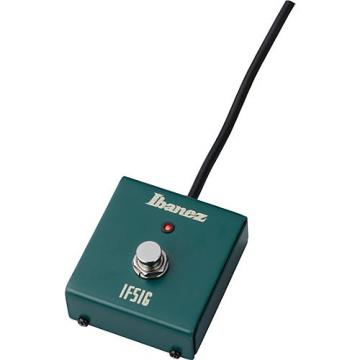 Ibanez 1 Button Footswitch for TSA5 Amp Green