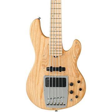 Ibanez Premium ATK815E 5-String Electric Bass Guitar Flat Natural