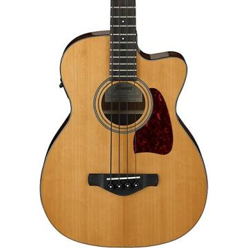 Ibanez Artwood Vintage AVCB9CENT Electric-Acoustic Bass Guitar Gloss Natural