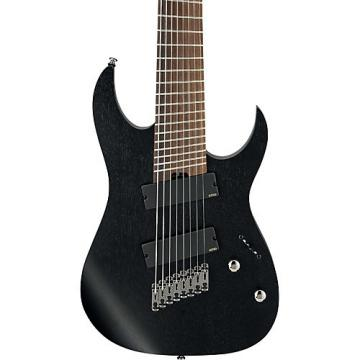 Ibanez RG Iron Label Multi-Scale 8-string Electric Guitar Weathered Black