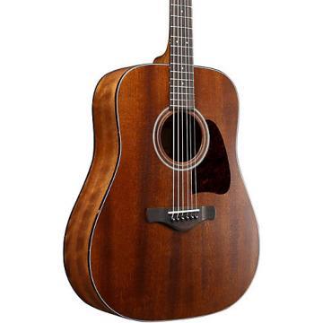 Ibanez AVD9MHOPN Artwood Vintage Thermo Aged Solid Top Mahogany Acoustic Guitar Natural