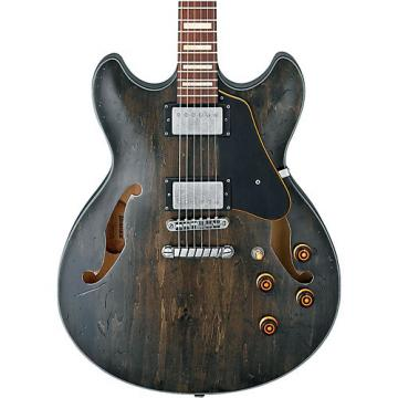 Ibanez Artcore Vintage Series ASV10A Semi-Hollow Body Electric Guitar Transparent Black