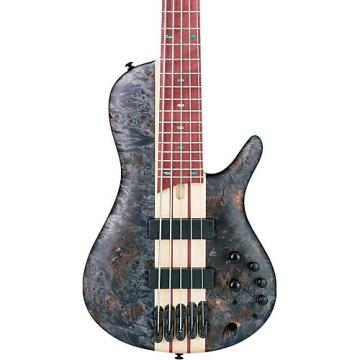 Ibanez Workshop SR Cerro Singlecut 5 String Electric Bass Guitar Deep Twilight Flat