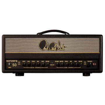 PRS Sonzera 50 50W Tube Guitar Amplifier Head Black