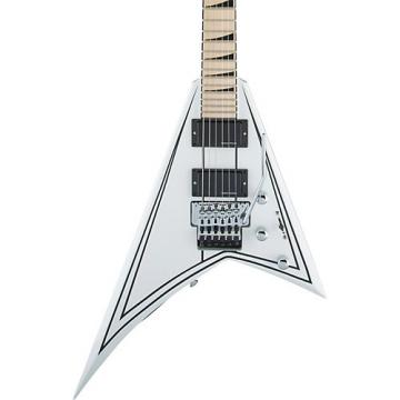 Jackson X Series Rhoads RRX24M Electric Guitar Snow White with Black Pinstripes