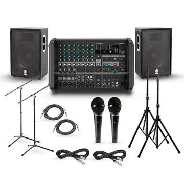 """Yamaha EMX5 with A-Series PA Package 15"""" Mains"""