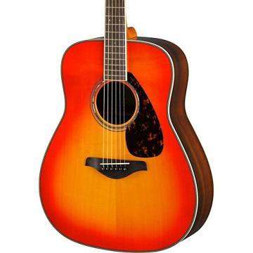 Yamaha FG830 Dreadnought Acoustic Guitar Autumn Burst