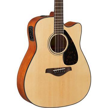Yamaha FG Series FGX800C Acoustic-Electric Guitar Natural