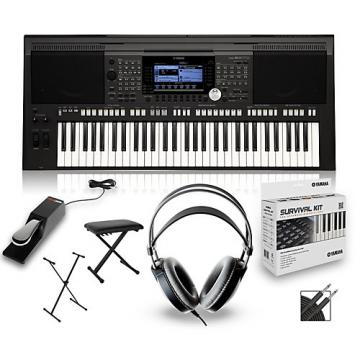 Yamaha PSRS970 with Headphones, Bench, Stand and Sustain Pedal