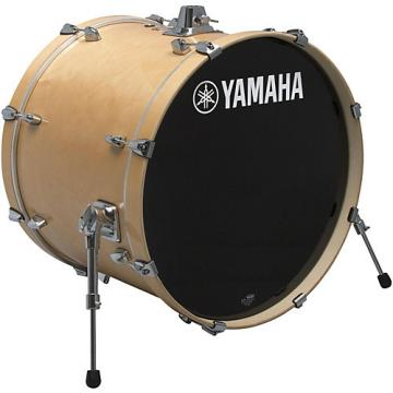 Yamaha STAGE SBB 2017NW CUSTOM BIRCH BASS DRUM 20X17 IN NATURAL WOOD 22 x 17 in. Natural Wood