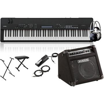 Yamaha CP40 Stage 88-Key Stage Piano with Keyboard Amplifier, Stand, Headphones, Bench, and Sustain Pedal