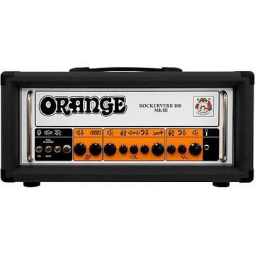 Orange Amplifiers Rockerverb 100 MKIII 100W Tube Guitar Amp Head Black
