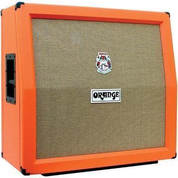 Orange Amplifiers PPC Series PPC412-A 240W 4x12 Guitar Speaker Cabinet Orange Slant