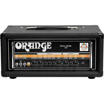 Orange Amplifiers Dual Dark 100W High-Gain Guitar Head Black