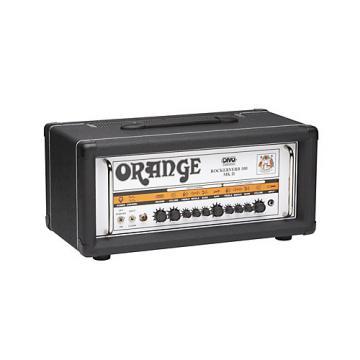 Orange Amplifiers Rockerverb RK100H MKII 100W DIVO Fitted Tube Guitar Amp Head Black