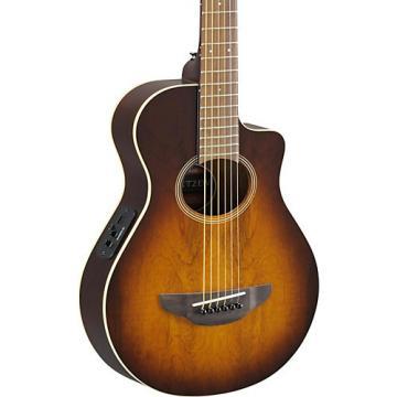 Yamaha APX Thinline 3/4 size Acoustic-Electic Guitar Tobacco Sunburst