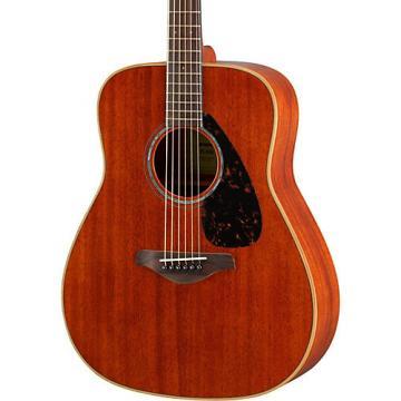 Yamaha FG850 Dreadnought Acoustic Guitar Natural
