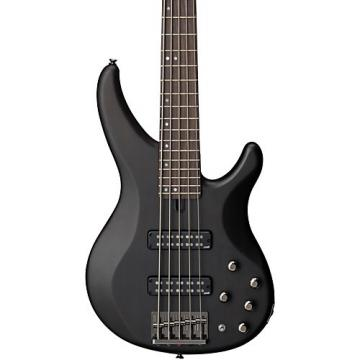 Yamaha TRBX505 5-String Premium Electric Bass Transparent Black Rosewood Fretboard