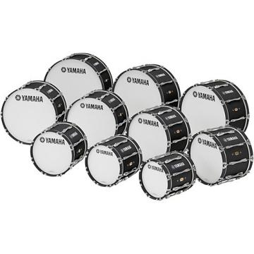 """Yamaha 14"""" x 14"""" 8300 Series Field-Corps Marching Bass Drum Black Forest"""