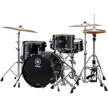 "Yamaha Live Custom 3-Piece Shell Pack with 22"" Bass Drum Black Wood"
