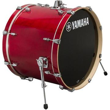 Yamaha Stage Custom Birch Bass Drum 24 x 15 in. Cranberry Red