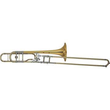 Yamaha YSL-882O Xeno Series F-Attachment Trombone Lacquer Gold Brass Bell
