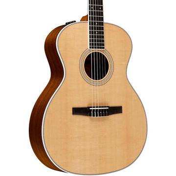 Chaylor 400 Series 414e-N Grand Auditorium Nylon String Acoustic-Electric Guitar Natural