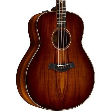 Chaylor Koa Series K28e Series Grand Orchestra Acoustic-Electric Guitar Shaded Edge Burst