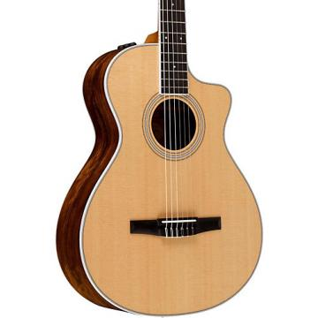 Chaylor 400 Series 412ce-N  Grand Concert Nylon String Acoustic-Electric Guitar Natural