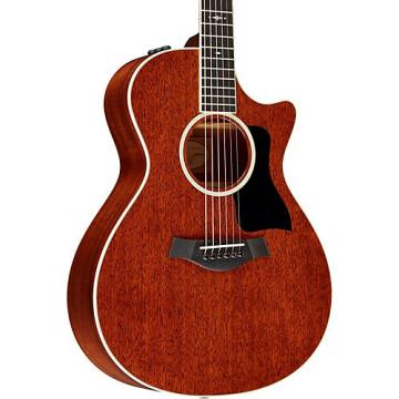 Chaylor 500 Series 522ce Grand Concert Acoustic-Electric Guitar Medium Brown Stain