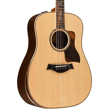 Chaylor 800 Deluxe Series 810e DLX Dreadnought Acoustic-Electric Guitar Natural