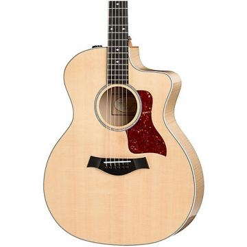Chaylor 200 Series 214ce-FM Deluxe Grand Auditorium Acoustic-Electric Guitar Natural