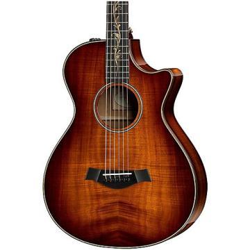 Chaylor Koa Series K22ce 12-Fret Grand Concert Acoustic-Electric Guitar Shaded Edge Burst