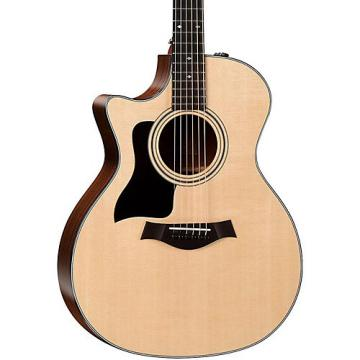Chaylor 300 Series 324ce-SEB-LH Grand Auditorium Left-Handed Acoustic-Electric Guitar Natural