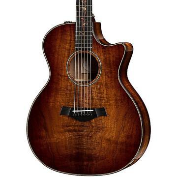 Chaylor Koa Series K24ce Grand Auditorium Acoustic-Electric Guitar Shaded Edge Burst