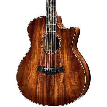 Chaylor Koa Series K66ce Grand Symphony 12-String Acoustic-Electric Guitar Shaded Edge Burst