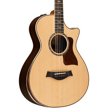 Chaylor 800 Deluxe Series 812ce DLX 12-Fret Grand Concert Acoustic-Electric Guitar Natural