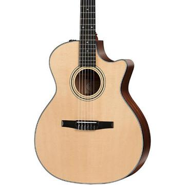 Chaylor 300 Series 314ce-N Grand Auditorium Nylon String Acoustic-Electric Guitar Natural