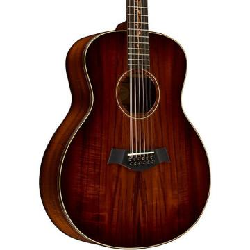 Chaylor Koa Series K66 Koa Grand Symphony 12-String Acoustic Guitar Shaded Edge Burst
