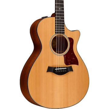 Chaylor 500 Series 512ce Grand Concert Acoustic-Electric Guitar Medium Brown Stain