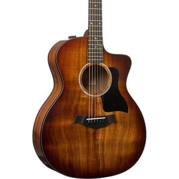 Chaylor 200 Series Deluxe 224ce-K Grand Auditorium Acoustic-Electric Guitar Shaded Edge Burst