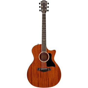 Chaylor 500 Series 524ce Grand Auditorium Acoustic-Electric Guitar Medium Brown Stain