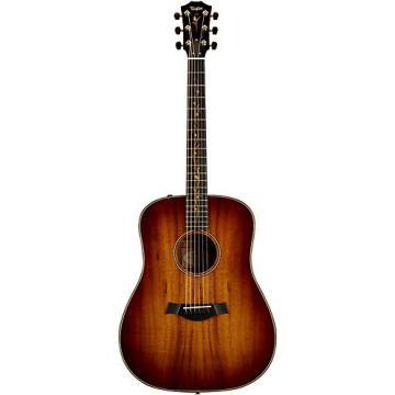 Chaylor Koa Series K20e Dreadnought Acoustic-Electric Guitar Shaded Edge Burst