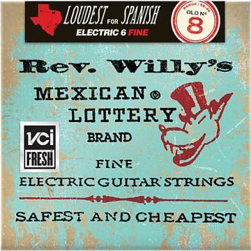 Dunlop Reverend Willy's Electric Guitar String Set - Light
