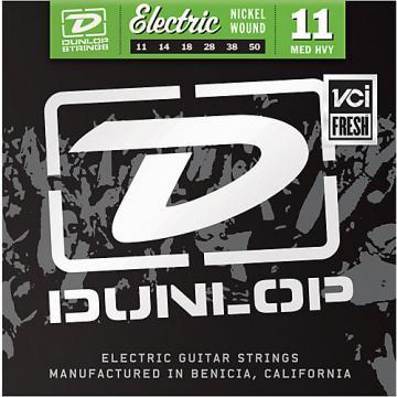 Dunlop Nickel Plated Steel Electric Guitar Strings - Medium Heavy