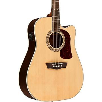 Washburn Heritage 20 Series HD20SCE Acoustic-Electric Dreadnought Guitar Natural