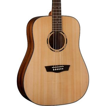 Washburn Woodline 10 Series Acoustic WLD10S Dreadnought Acoustic Guitar Natural