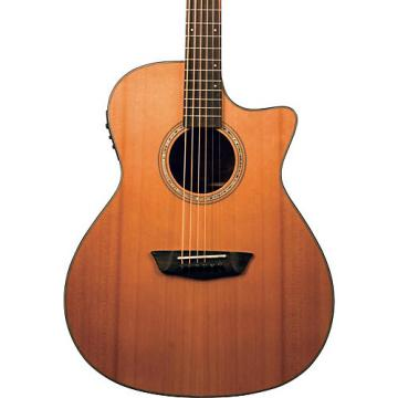 Washburn Woodline Series WLG110SWECEK Grand Auditorium Acoustic-Electric Guitar Natural